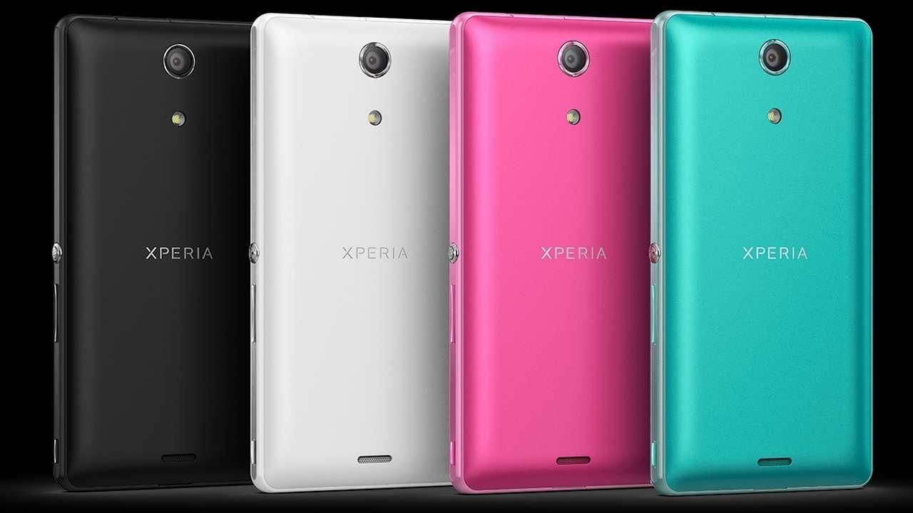 Desain Sony Xperia ZR