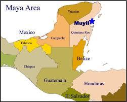 Peta Suku Maya
