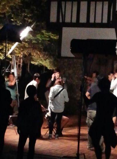 Foto-foto Di Balik Layar Drama Korea Master's Sun – Page 2