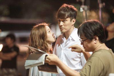 Foto Di Balik Layar Drama Master's Sun 22