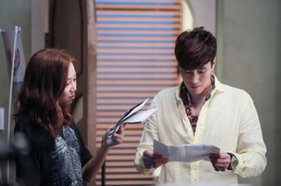 Foto Di Balik Layar Drama Master's Sun 24