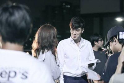 Foto Di Balik Layar Drama Master's Sun 29