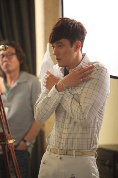 Foto Di Balik Layar Drama Master's Sun 49
