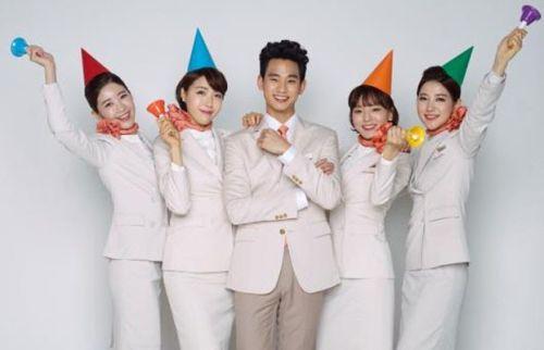 Kim Soo-hyun Jeju Air