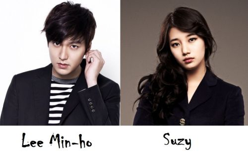 Lee Min-ho Suzy