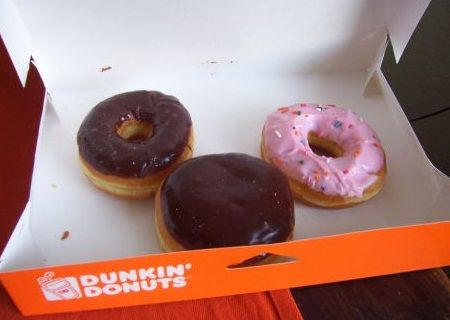Pesan Antar Dunkin' Donuts