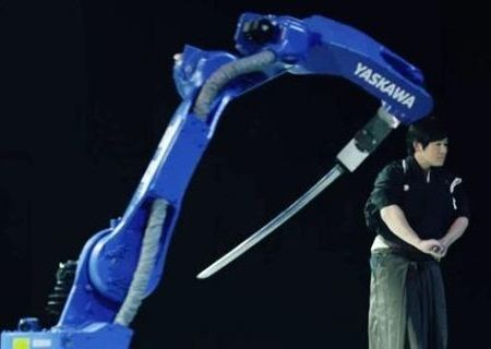Robot Pedang