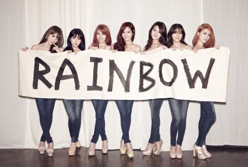 Foto Girlband Rainbow1