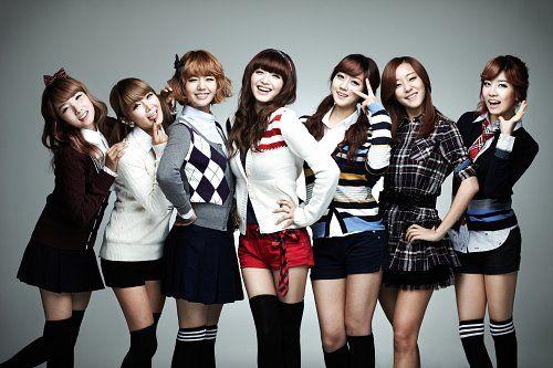 Foto Girlband Rainbow6