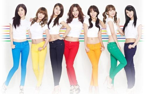 Foto Girlband Rainbow8