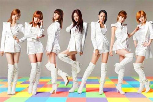 Foto Girlband Rainbow9