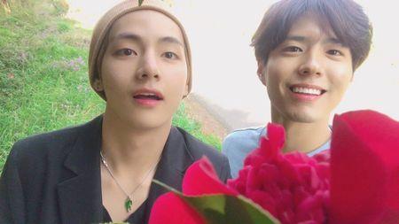 Park Bo-gum dan V BTS 4