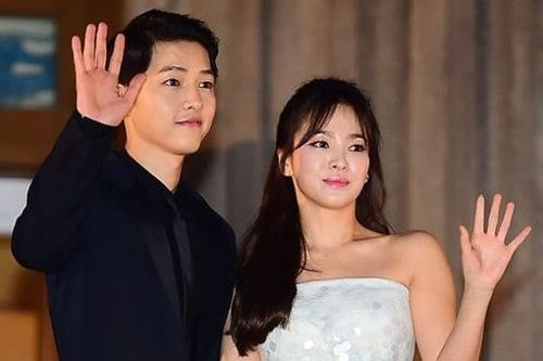 Song Joong-ki dan Song Hye-kyo
