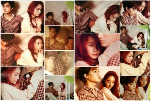 Kai EXO dan Krystal Jung f(x)