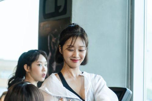 Foto Jo Bo Ah di Drama Parting Left