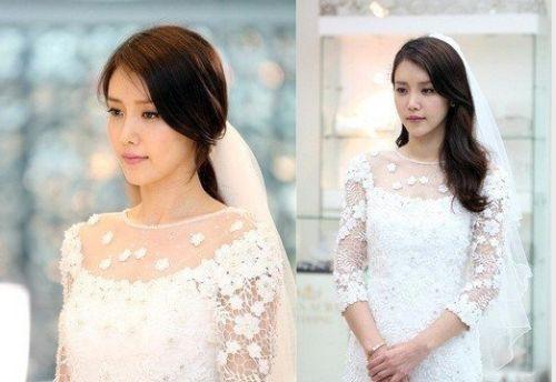 Foto Pernikahan Chae Jung-an