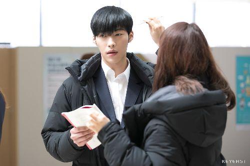 Foto Woo Do-hwan berseragam Sekolah1