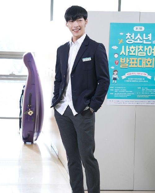 Foto Woo Do-hwan berseragam Sekolah6