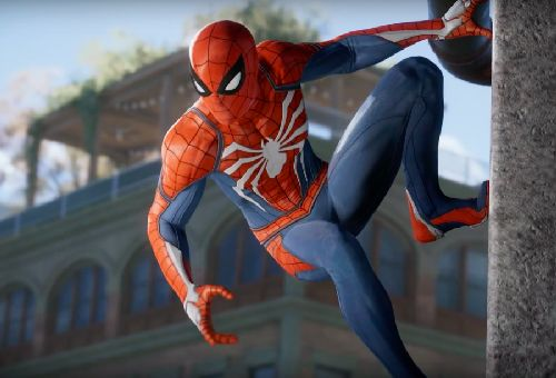 gambar spiderman cartoon