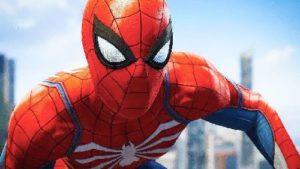 gambar spiderman merah