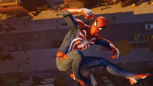 gambar spiderman galau