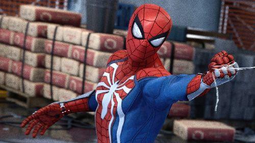 gambar spiderman gokil