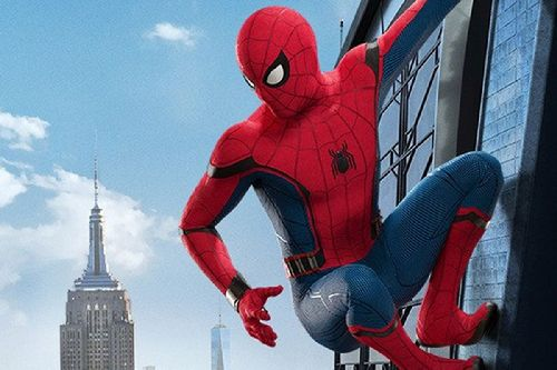 gambar spider man homecoming