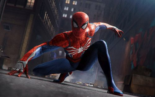 gambar spiderman asli