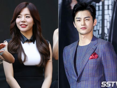 Foto Seo In-guk dan Sunny