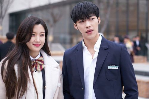 Moon Ga Young and Woo Do Hwan