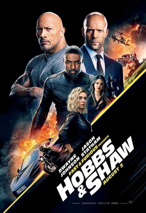 Poster Hobbs and Shaw